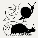 Garden Snails On-The-Go Stencil | ST-509 - Product Image