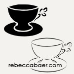 Teacup and Saucer Stencil | ST-504 - Product Image