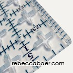 Tru-Cut Quilter's Ruler - Product Image