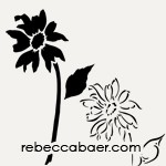 Wild Daisy Stencil | ST-503 - Product Image